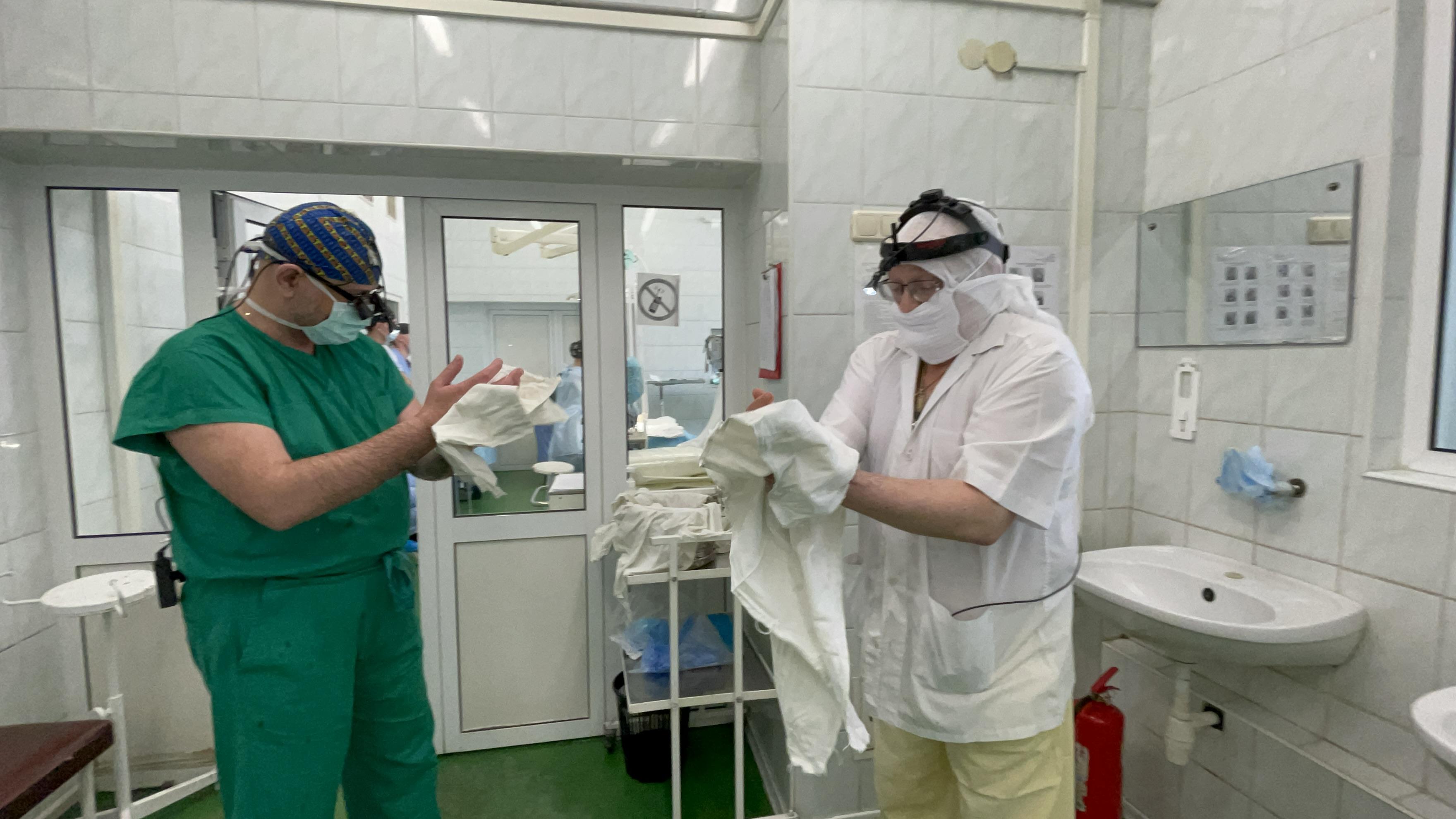 трансплантация, хирурги, Охматдет