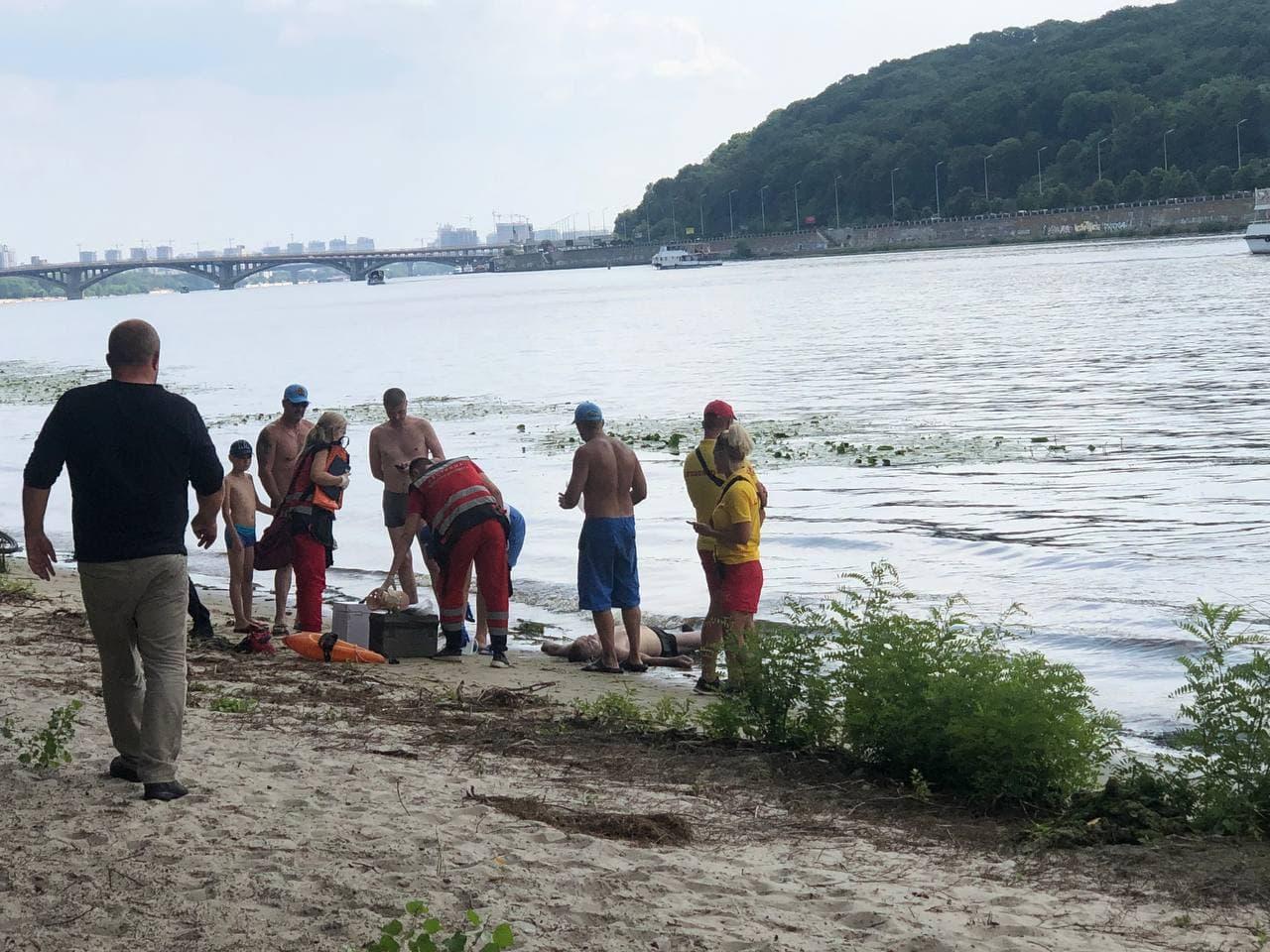 Був п'яний: на Трухановому острові потонув чоловік