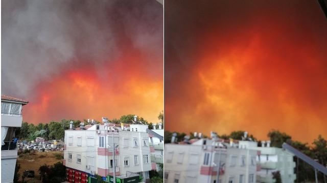 Лісові пожежі у Туреччині: людей евакуюють на човнах з води
