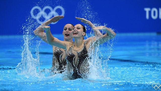Украинские синхронистки завоевали бронзу на Играх-2020 в Токио