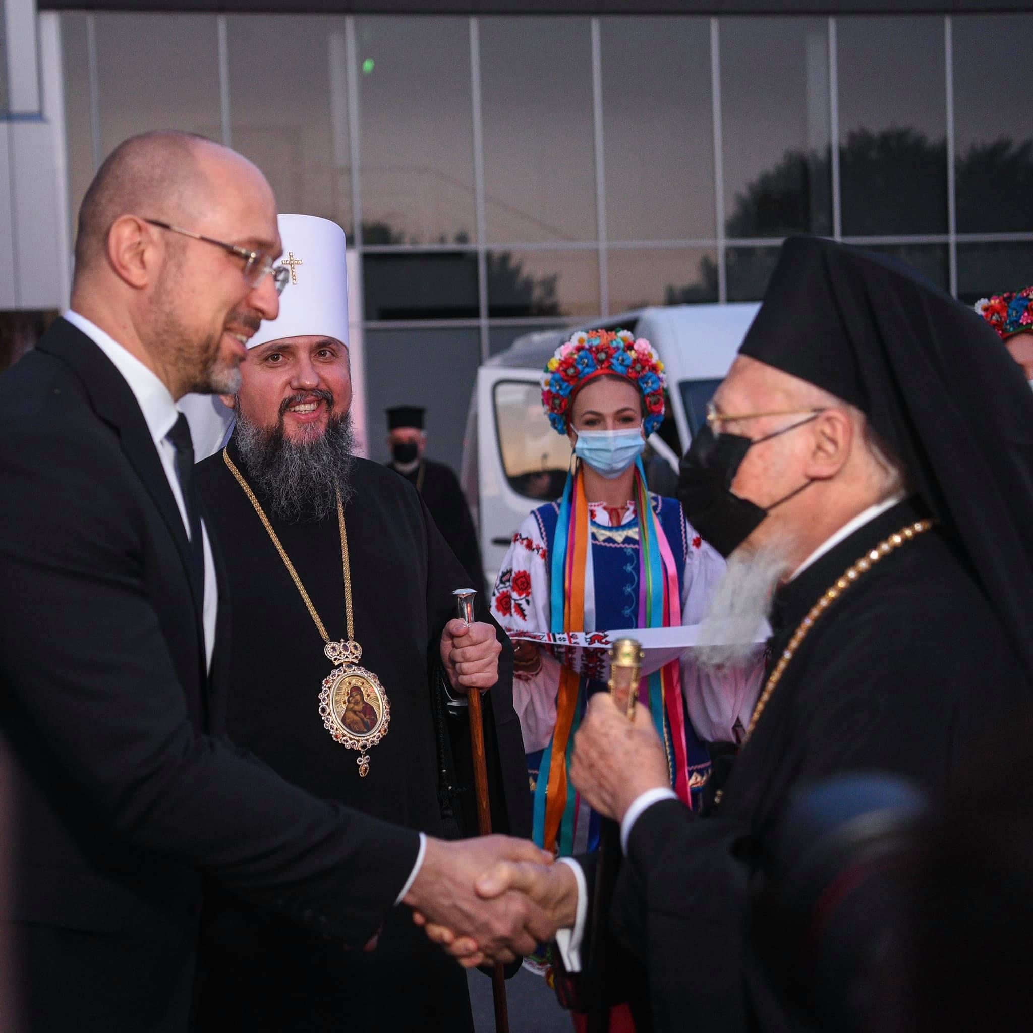 Символічний і важливий візит: в Україну прибув Вселенський Патріарх Варфоломій