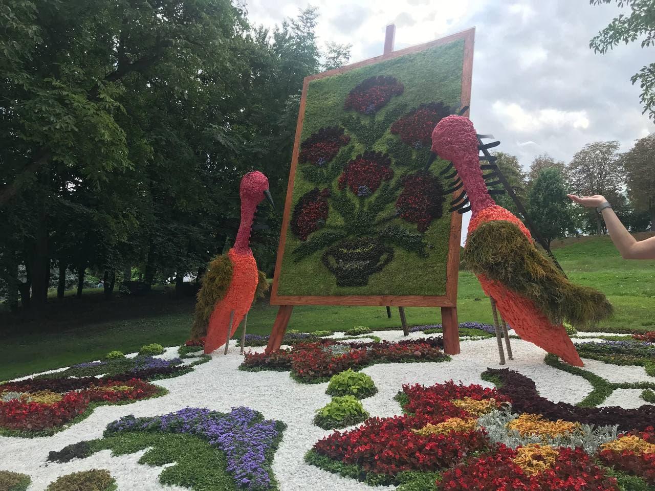 У Києві відкрилася виставка квітів за мотивами картин Марії Приймаченко