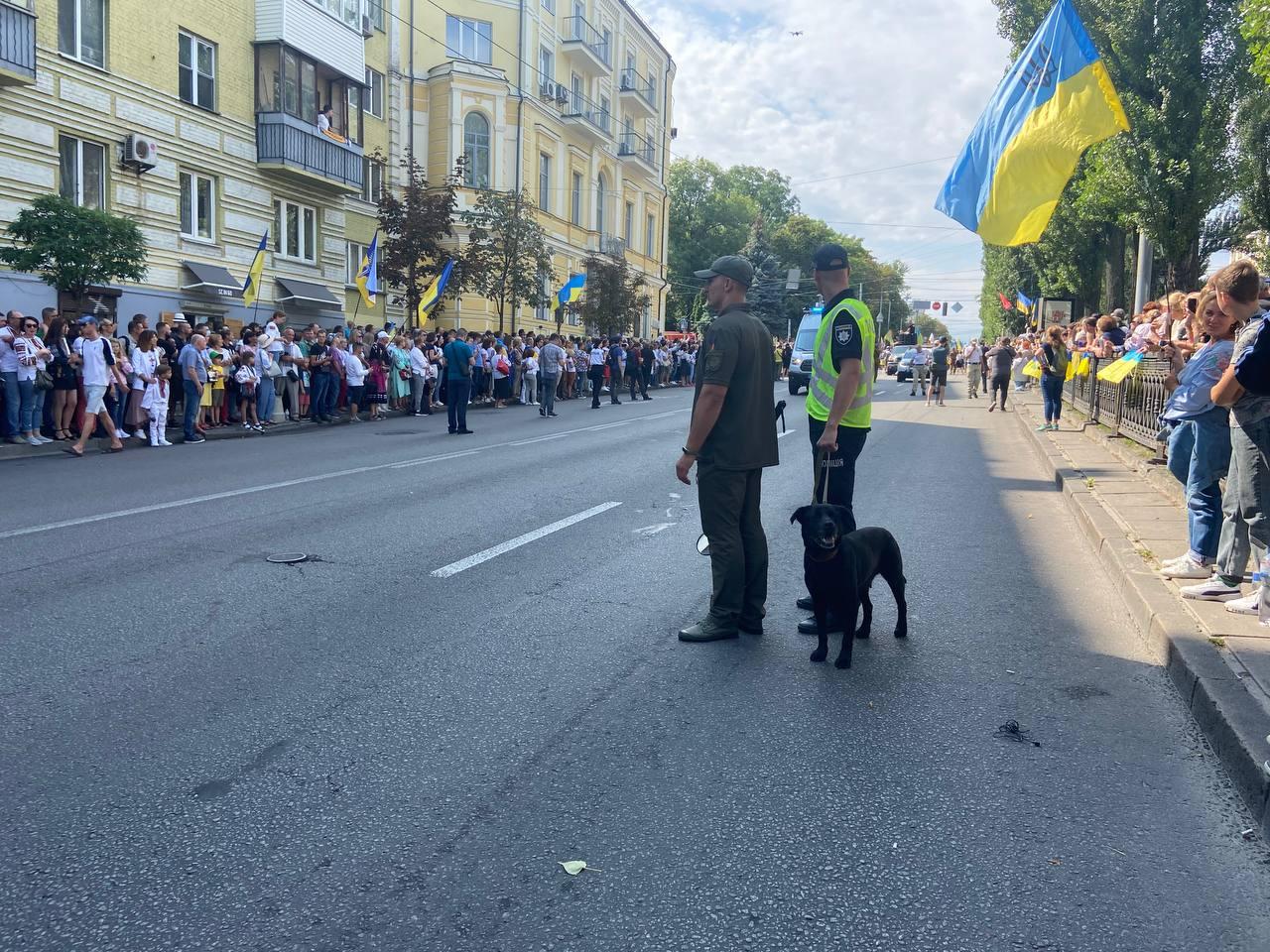 Марш захисників України 2021