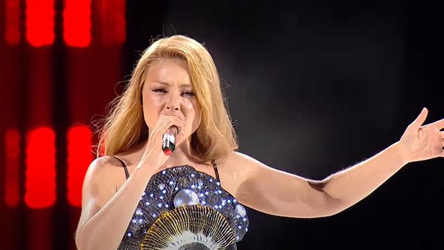 Тіна Кароль вагітна: у мережі обговорюють виступ Тіни на концерті на День Незалежності