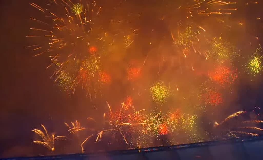 День Незалежності України 2021 завершився святковим салютом (ФОТО і ВІДЕО)