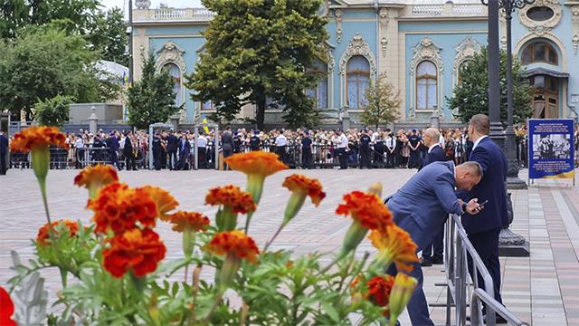 Андреа Бочеллі виступає на День Незалежності України у Києві