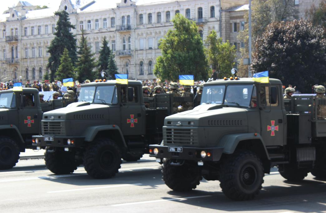 Парад на День Незалежності України 2021 – ФОТО та ВІДЕО