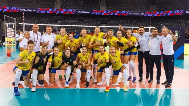 Жіноча збірна з волейболу на чемпіонаті Європи