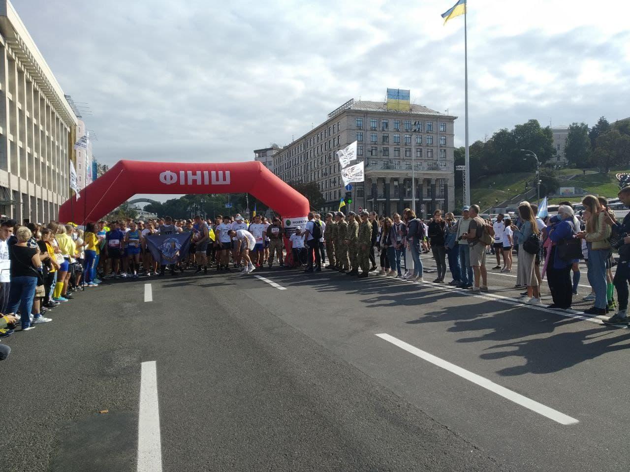 В Україні відбувся четвертий забіг на честь полеглих воїнів