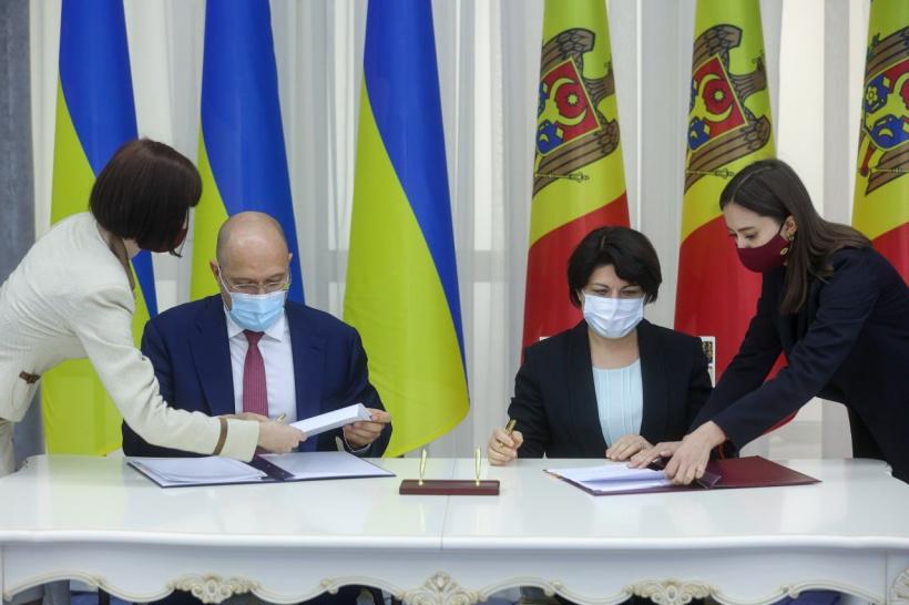 Україна та Молдова внесли зміни до угоди про вільну торгівлю між країнами