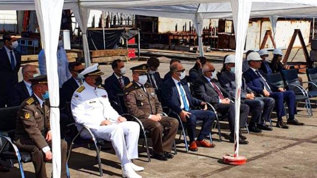 В Туреччині заклали кіль корвета для ВМС України