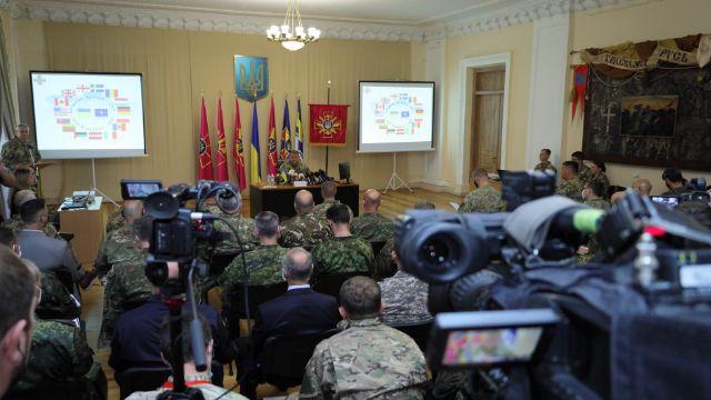 Об'єднані зусилля 2021: у військових навчаннях візьмуть участь військові з 15 країн