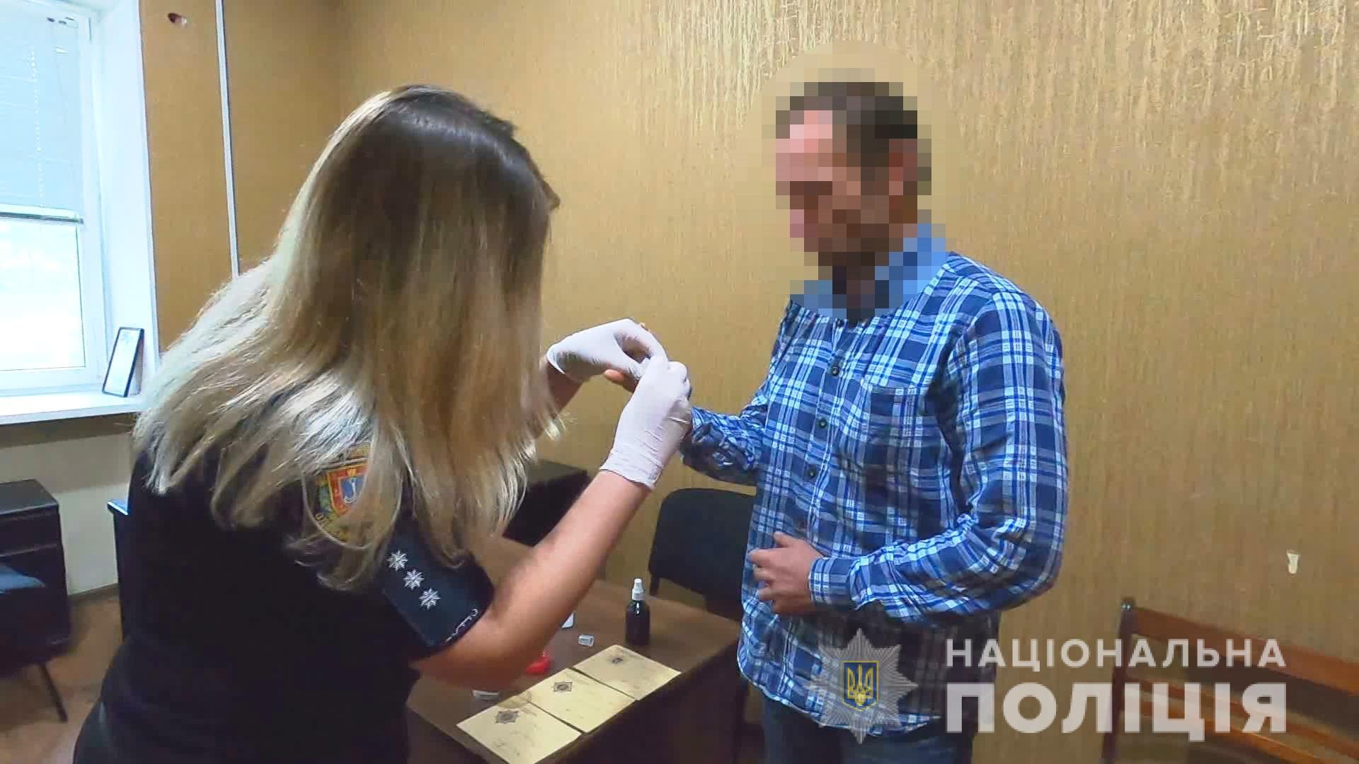 Продавав гранати: поліція Одеси затримала мешканця Херсона