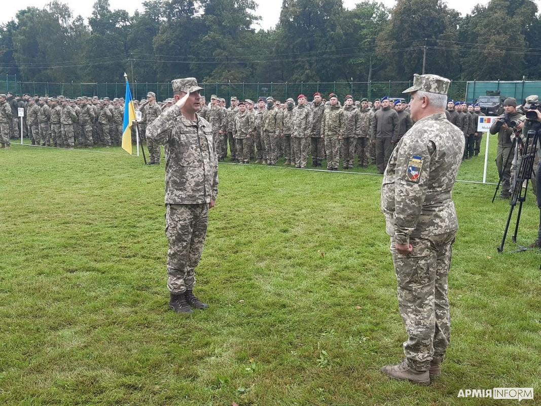 військові навчання Rapid Trident – 2021