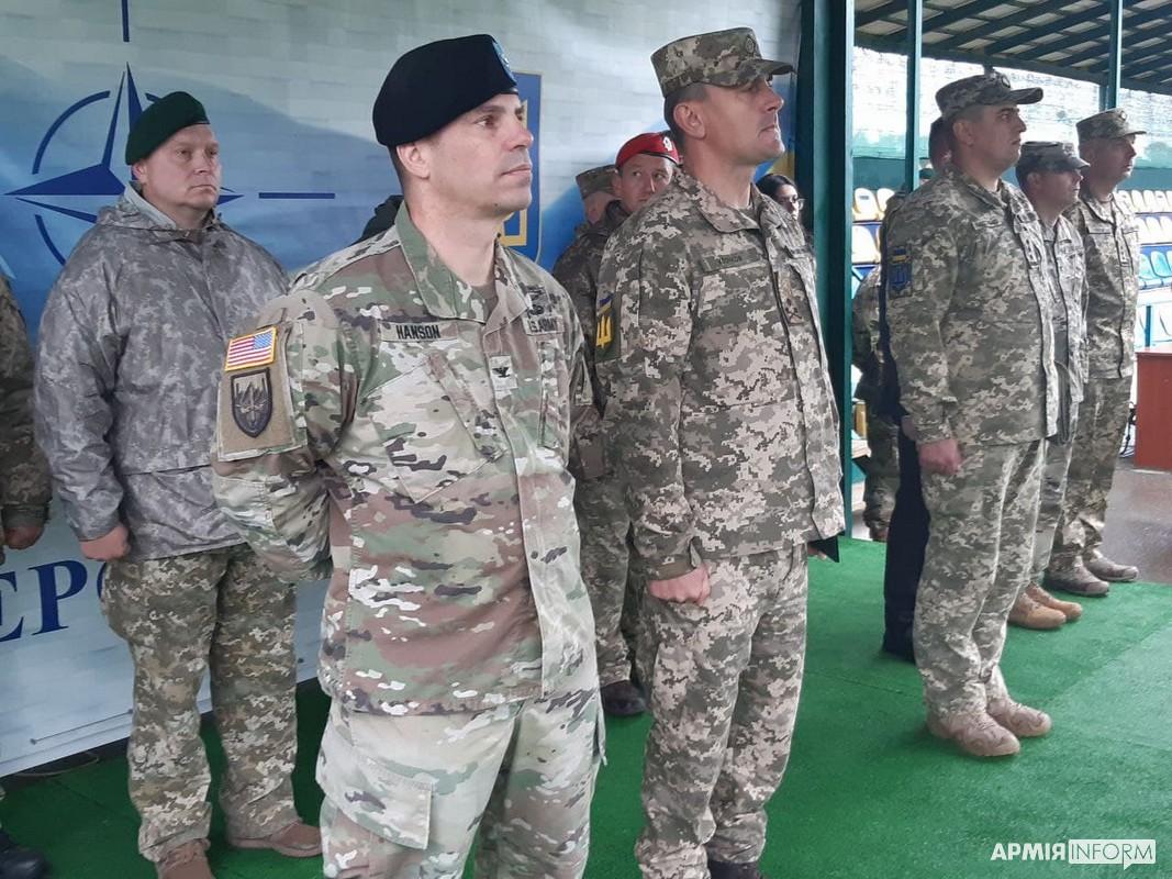 Rapid Trident-2021: в Україні стартували військові навчання з країнами НАТО
