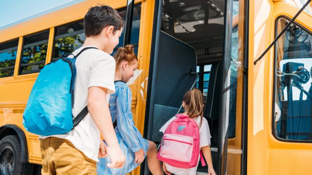 У Польщі автобус із понад 30 дітьми злетів у кювет: є постраждалі