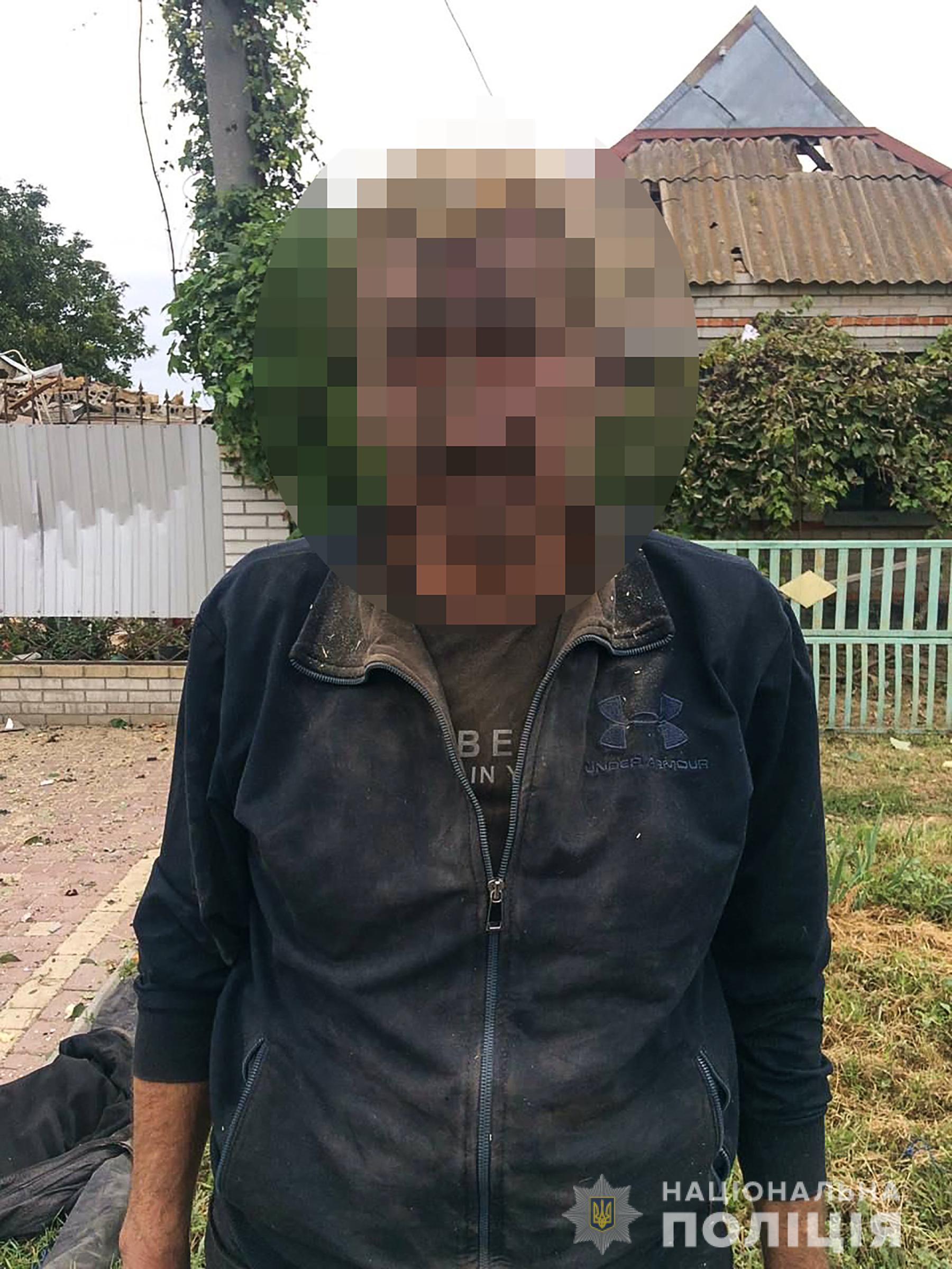 Спроба самогубства: у Приморську чоловік підірвав газ у власному будинку