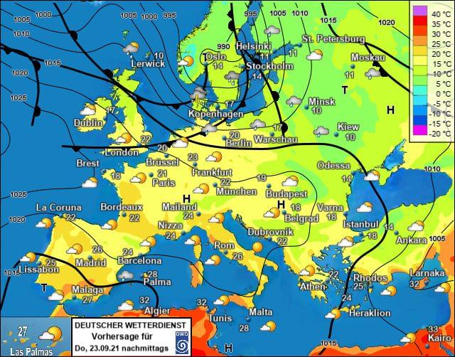 Україна стане найхолоднішою країною Європи 23 вересня – Діденко