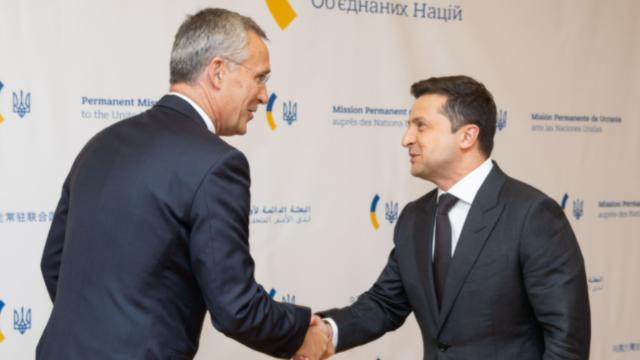 Україні потрібні чіткі терміни вступу до НАТО: Зеленський зустрівся з генсеком