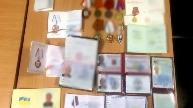 Прикордонники затримали на адмінкордоні з Кримом бойовика з нагородами від Путіна