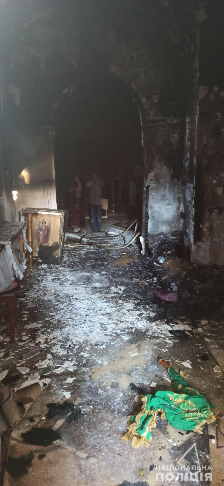 На Одещині 12-річний підліток спалив церкву, в якій служив батько його однокласника – подробиці та фото
