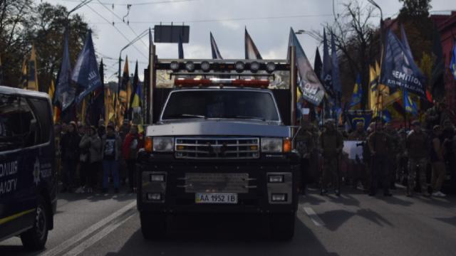 У Києві розпочався Марш нації до Дня захисників і захисниць