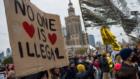 В Варшаве состоялся масштабный митинг против выдворения нелегалов