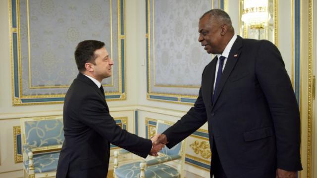 США для України – головний партнер у сфері безпеки: Зеленський на зустрічі з Остіном